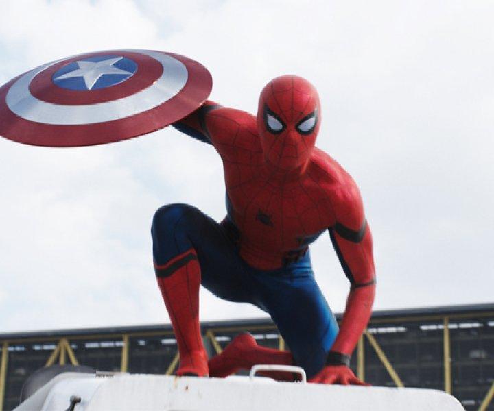 Marvel's Captain America: Civil War\n\nSpider-Man/Peter Parker (Tom Holland)\n\nPhoto Credit: Film Frame\n\n© Marvel 2016