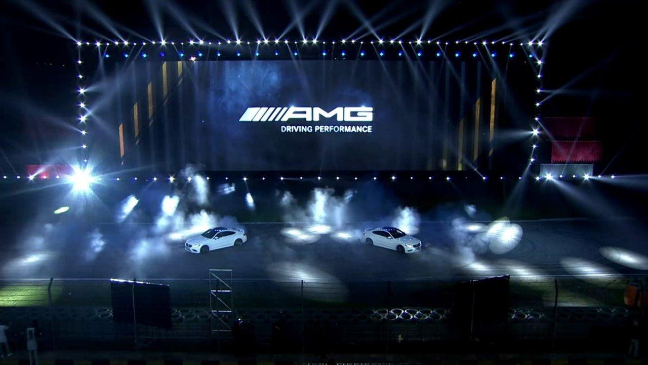 AMG C63 Coupé Launch